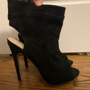 JustFab Heeled Booties!